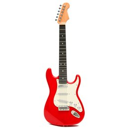 Wholesale Maple Games - Wholesale-Best Price Children's Simulation Electric Guitar 6 strings Best for Kids Musical Toys Educational Games Music Guitar Gifts