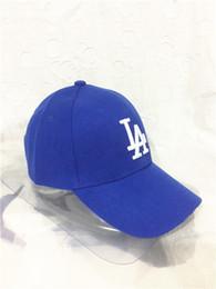 Wholesale Grey Brim Snapback - New high-quality boy Baseball Caps LA Dodgers Outdoors Snapback Curved Brim Caps Bones Hip Hop Hats Men Women Gorras bone casquette