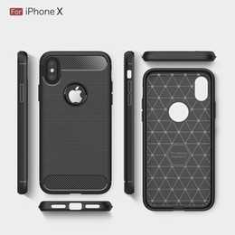 Wholesale Hot Armor - Free DHL Carbon Fiber Cases For iphoneX iphone8 heavy duty shockproof armor cover for iphone7 7Plus 6SPlus 5S 2017 hot sale