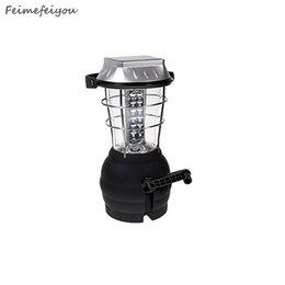 Wholesale Solar Dynamo Led Lantern - Wholesale- Feimefeiyou 36 luminaria Led Solar Dynamo camping lantern camping lantern emergency outdoor 5 charging method