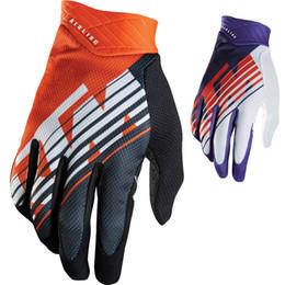 Wholesale Bike Ktm - Wholesale KTM Motorcycle gloves Downhill mountain bike gloves Men MX Motocross full finger gloves DH MTB Cycling racing glove Luvas Guant