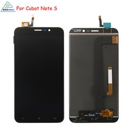 Wholesale Touch Screen Cubot - For Cubot Note S LCD Display Touch Screen Digitizer Mobile Phone Parts For Cubot Note S Screen LCD Free Tools
