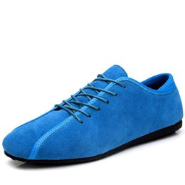 Wholesale casual ankle boots for men - Men Shoes Hot Sale 2017 Fashion Spring Warm Cow Leather Shoes Flat Lace up Ankle Boots for Man Rubber Outsole Casual Shoes