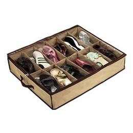 Alipower Главная многофункциональный 12 сетки складной прозрачный допуск обуви сумка складной организатор хранения отделочная коробка 72 * 61*15 см от