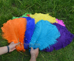 Wholesale Wholesale Black Ostrich Feathers - FREE 12-14 Inch 30-35cm Natural Ostrich Feather Multi Choice Wedding Decoration Choice