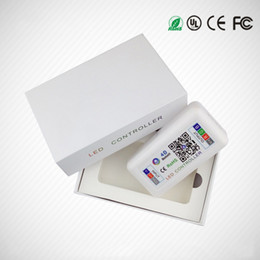 Wholesale Android Bluetooth App - LED Music Bluetooth Controller DC12-24V Max 288W RGBW LED Controller for Full colour LED Strip Wireless iOS Android APP Control