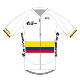Wholesale Only Shorts Sky - 2017 Sergio Henao shirts Colombia champion sky cycling Jersey summer Bicycle maillot breathable bike cloth Ropa Ciclismo only