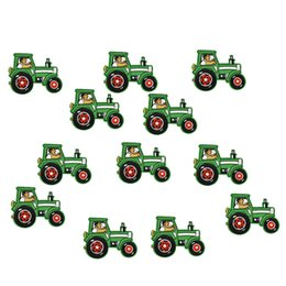Wholesale Tractor Wholesalers - Diy Tractors patches for clothing iron embroidered patch applique iron on patches sewing accessories badge stickers on clothes