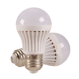 Wholesale Super Bright Led Light 3w - Energy-saving Light LED Bulbs E27 Globe Bulbs 3W 5W 7W 9W SMD2835 LED Light Bulbs Warm Pure White Super Bright Light Bulb