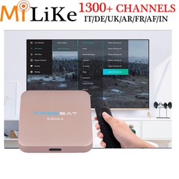 Wholesale Iptv Receiver Box Arabic Channels - freesat S905X 2G 16G Arabic iptv receiver box with europe iptv italy free 1300+ UK Italy French Germany somali Poland channel 12 months
