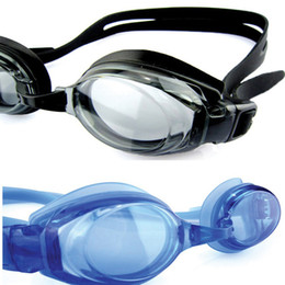 Wholesale Uv Shield Swimming Goggles - New Adjustable Anti-fog UV Shield Protection Boys and Girls Silicone Swimming Goggles Water Resistant Children Swimming Glasse