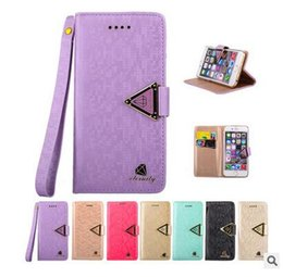 Wholesale crystal diamond leather case iphone - Luxury Bling Crystal Diamond PU Leather Flip Bling Cover Case with Card Slots For Iphone 7 7 plus Samsung S7 with Opp package