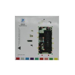 Wholesale Iphone 4s Screw Mat - Magnetic Screw Mat for iphone 7 6S 6 5s 5 4s 4 plus Opening Repair guid Tool