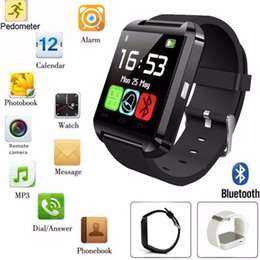 Wholesale Used Edge - U8 Smart Watch GT08 DZ09 A1 SmartWatch Wrist Watches with Altimeter and motor for iPhone 6 6S Plus Samsung S7 edge Note 5 HTC Android Phone