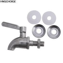 Wholesale Dispenser Tap - Wholesale- New M12 Stainless Steel Beverage Drink Dispenser Wine Barrel Spigot  Tap  Faucet