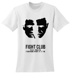 Wholesale Fight Club - New Arrival Fight Club Logo Printed Women Cotton Tees Shirt Design Round Neck Short Sleeve Girl Customized T-Shirt