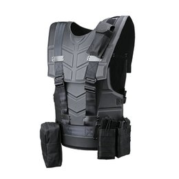 Wholesale Tactical Black Suit - Wholesale Fashion Multi-function Tactical Armor Outdoor Sport Combat Tactical Vest and Equipment,Cosplay Tactical Clothes Suit