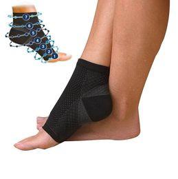 Wholesale Fatigue Running - Foot Angel Anti Fatigue Foot Compression Sleeve Socks Anti Fatigue Compression Socks Outdoor Running Cycle Basketball Socks D838