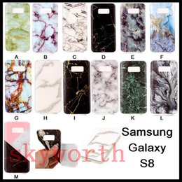 Wholesale Marble Case Galaxy - Granite Marble Pattern Soft TPU Phone Case Shockproof Cover for Samsung Galaxy S8 Plus J5 J7 Google Pixel XL Huawei P9 lite