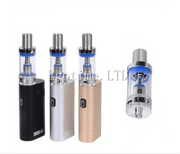 Wholesale mini watt - DHL free Jomo Lite 40w Jomo 40 watt E cig Box Mod Lite 40w vapor mod kit 3ml Vaporizer Kanger Kbox 120W subox mini nano kit