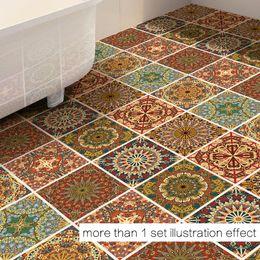 Wholesale Animal Geometry - Creative New Fashion Arab Decor Floor Stickers Geometry Wall Sticker Removable Floor Sticker Art Decal Home Room Bathroom