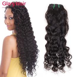 Wholesale Brazilian Virgin Hair 8inch - Mink Brazilian Virgin Hair Weft Water Wave 8inch-26inch Wet & Wavy Virgin Hair Bundles 8a Grade Unprocessed Natural Culry Human Hair Weaves