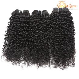 Wholesale 22 Inch Curly Weave Cheap - Cheap Brazilian Hair Weave Bundles Deal Brazilian Kinky Curly Human Hair Extension 100% Unprocessed Brazilian Afro Kinky Curly Hair Bundles