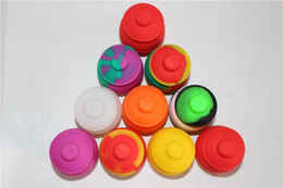 Wholesale Wax Pots - Honey Pot Silicone Container BHO Oil Butane Vaporizer Silicon Jars Dab Wax Container