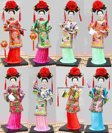 Wholesale Craft Offers - The characteristics of Beijing silk silk special offer Q version of the Imperial Palace palace Princess doll doll crafts gift Tang