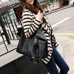 Wholesale Wholesale Peplum Long Sleeve Top - Wholesale-New Fashion Women Ladies Long Sleeve Striped Cotton Peplum Autumn Casual Top Cardigan Blouse Jacket Size S M L
