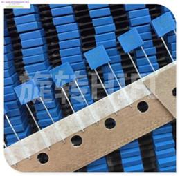 kondensator blau Rabatt Großhandels-2015 Top Fashion Blue Superkondensator 10 STÜCKE Epcos B32529 0.01uf 10nf 103/100 v Neue Filmkupplung Kondensatoren P5 Kostenloser Versand