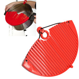 Wholesale water strainer filter - Better Strainer Large Expandable Strainer Lock on Sieve Colander Water Filter Expandable Coland kitchen Strainer 120pcs OOA1933