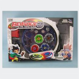 2019 beyblade atacado 3pcs Atacado-/ lot 2016 New chegam crianças populares Toy Beyblade Spinning Tops plástico metal para as crianças brinquedos clássicos beyblade atacado barato