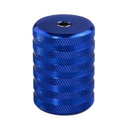 Wholesale 35mm Grip - Wholesale-New Blue 35mm Aluminum Alloy Grip for Tattoo Machine Gun