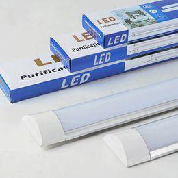 2019 barra de luz 36w Tubo duplo 18 W 28 W 36 W tubo de LED tubo de sarrafo iluminação LED tubo de luz Interior usando LED iluminação home office purificação lâmpada triproof luz barra de luz 36w barato