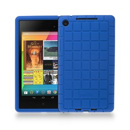 Wholesale Nexus 2nd Case - Wholesale- Silicone Protective Case Cover For Google Nexus 7 FHD 2nd Gen 2013 Android Tablet Poetic