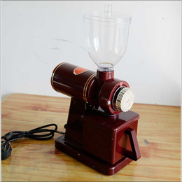Wholesale Coffee Maker Bean - Electric Professional manual burr coffee grinder coffee mill machine maker home bean stainless steel grinder 110V 220V