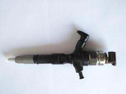 Hiace on-line-4 pcs 2KD-FTV 2KD MOTOR GENUINE den / tão common rail injector de combustível 295050-0810 295050-0540 23670-0L110 23670-09380 para TOYOTA dyna hiace hilux