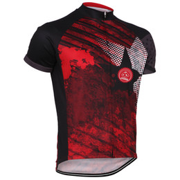 Wholesale Star Cycling Jersey - NEW Hot 2017 Big stars Red JIASHUO Bike Classical mtb road RACE Team Pro Cycling Jersey   Shirts & Tops Clothing Breathable Customized