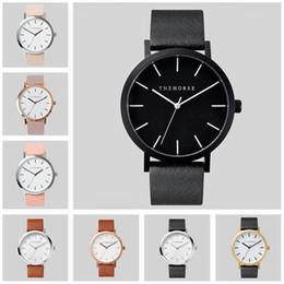 Wholesale Pink Designer Watches Women - Mens Luxury Watches Brand Quartz Women Fashion Ladies Designer Business Wristwatches 10 Style Valentine's Day Gift