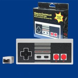 Wholesale Game Controller Joystick Pc - Wireless Controllers for NES CLASSIC MINI Bluetooth Joysticks Game Controller Gamepad With Wrireless Receiver for IOS Android PC