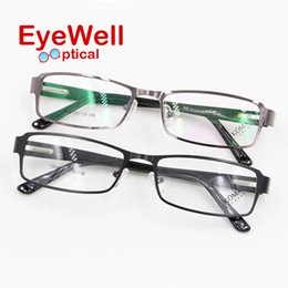Wholesale Spectacles Frames For Men Fashion - Wholesale- Most fashion full rim alloy spectacles frame with spring hinge comfortable wearing eyeglasses for men