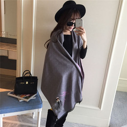 Wholesale Shop Shawls - Wholesale-Europe and the United States of big shop sign galeries lafayette little monsters silk fashion scarves cashmere shawl