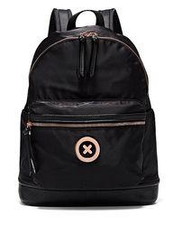 черная заклепка фиолетовый мешок Скидка MIMCO мода женщин SPLENDIOSA рюкзак Mimco черный Роза золотой тон аппаратных полиэстер с плоским верхом мешок ручки петли