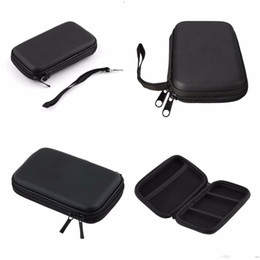 """Wholesale Carrying Case External Hard Drive - Wholesale- Black Portable Zipper External 2.5 HDD Bag Carry Case Pouch For 2.5"""" HDD Hard Disk Drive Protect #"""