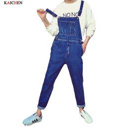 Wholesale Mens Denim Suspenders - Wholesale-Summer Fashion Casual Mens Cargo Denim Overalls , Fall Male Jeans Jumpsuits , Men Suspenders Trousers Playsuits For Man M-XL