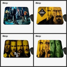 Wholesale Breaking Bad - Hot Sales TV breaking Bad Creative Photo Print Rubber Rectangular Game Table Pad Mouse Pad PC Computer Rubber Player Speed Pad