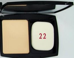 Wholesale Double Compact - Free shipping Hot Selling DOUBLE Perfection Compact Powder Face Makeup 3 Different Colors 15g Brighten Long-lasting 2pcs lot