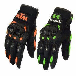 Wholesale Summers Motorcycle Gloves - Summer Winter Full Finger motorcycle gloves gants moto luvas motocross leather motorbike guantes moto racing gloves