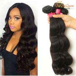 Wholesale mix deals - Wholesale 8A Body Wave Mink Brazilian Virgin Hair Bundle Deals Wet And Wavy Brazilian Human Hair Mix Length Brazilian Hair Bundles